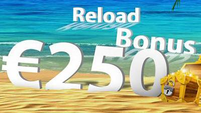 50% Bonus up to €250