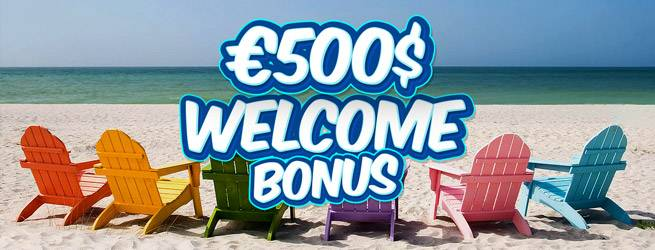 100% Bonus up to €500